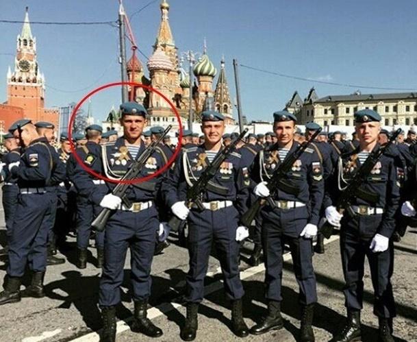 Шахтинский десантник принял участие в Параде Победы на Красной площади