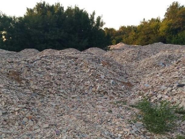 Тонны битой плитки обнаружены в Шахтах